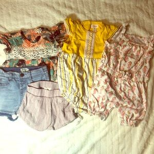 Cute spring/summer baby girl clothes size 18mos